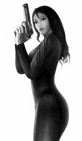 gunwoman