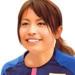なでしこジャパン メダル確定 (鮫島彩選手)
