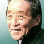 鯨とメダカ (田中邦衛さん & 志田未来さん)